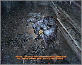 Opis: Eksplorację tej okolicy rozpocznij od założenia maski (klawisz G) - Dead City 1* (1) - Opis przejścia - Rozdział 2 - Metro 2033 - poradnik do gry