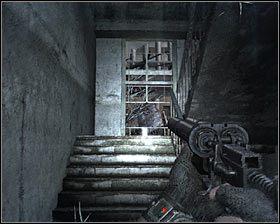 Możesz już skierować się w stronę charakterystycznej metalowej bramki #1 - Dead City 1* (1) - Opis przejścia - Rozdział 2 - Metro 2033 - poradnik do gry