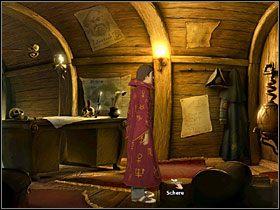 Podejdź do drzwi (po prawej) - Wyspa (1) - Opis przejścia - Simon the Sorcerer 5: Kto nawiąże kontakt? - poradnik do gry
