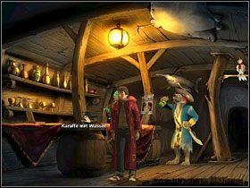 8 - Wyspa (1) - Opis przejścia - Simon the Sorcerer 5: Kto nawiąże kontakt? - poradnik do gry