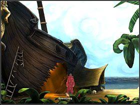 13 - Wyspa (1) - Opis przejścia - Simon the Sorcerer 5: Kto nawiąże kontakt? - poradnik do gry