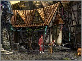 Zagadnij Waldena raz jeszcze, w efekcie czego otrzymasz garść śrubek - Magiczne Królestwo (2) - Opis przejścia - Simon the Sorcerer 5: Kto nawiąże kontakt? - poradnik do gry