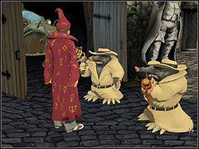 Wracaj pod mur przy szopie - Magiczne Królestwo (2) - Opis przejścia - Simon the Sorcerer 5: Kto nawiąże kontakt? - poradnik do gry