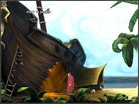 5 - Wyspa (2) - Opis przejścia - Simon the Sorcerer 5: Kto nawiąże kontakt? - poradnik do gry