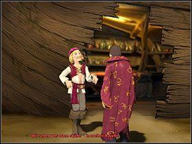 Po ożywieniu wynalazcy porozmawiaj z nim na wszystkie tematy - Wyspa (2) - Opis przejścia - Simon the Sorcerer 5: Kto nawiąże kontakt? - poradnik do gry