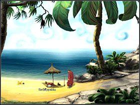 6 - Wyspa (2) - Opis przejścia - Simon the Sorcerer 5: Kto nawiąże kontakt? - poradnik do gry