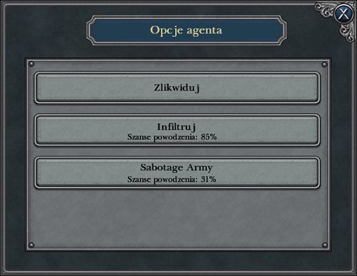 Szpiedzy to firma wielobranżowa - zajmują się też zabójstwami - Szpiedzy - Agenci - Napoleon: Total War - poradnik do gry