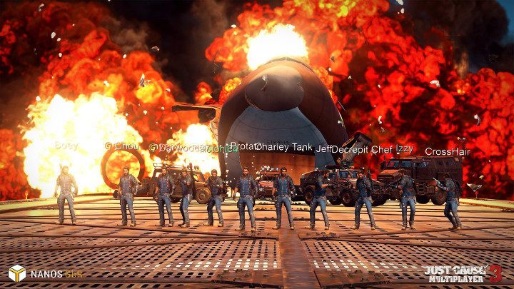 Cool Guys Don't Look at Explosions. - Just Cause 3: Multiplayer Mod zadebiutuje 20 lipca na platformie Steam - wiadomość - 2017-07-14