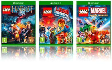 Za Tydzień W Sprzedaży Gry Lego Video Games Na Konsolę Xbox One