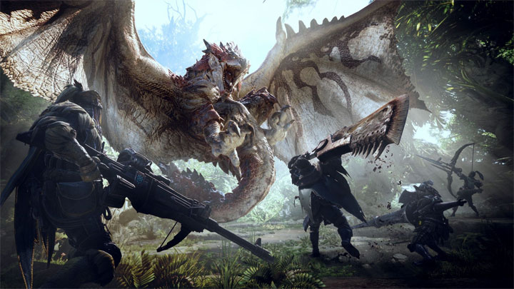 Monster Hunter: World. - Monster Hunter World w styczniu bezkonkurencyjne w USA - wiadomość - 2018-02-23