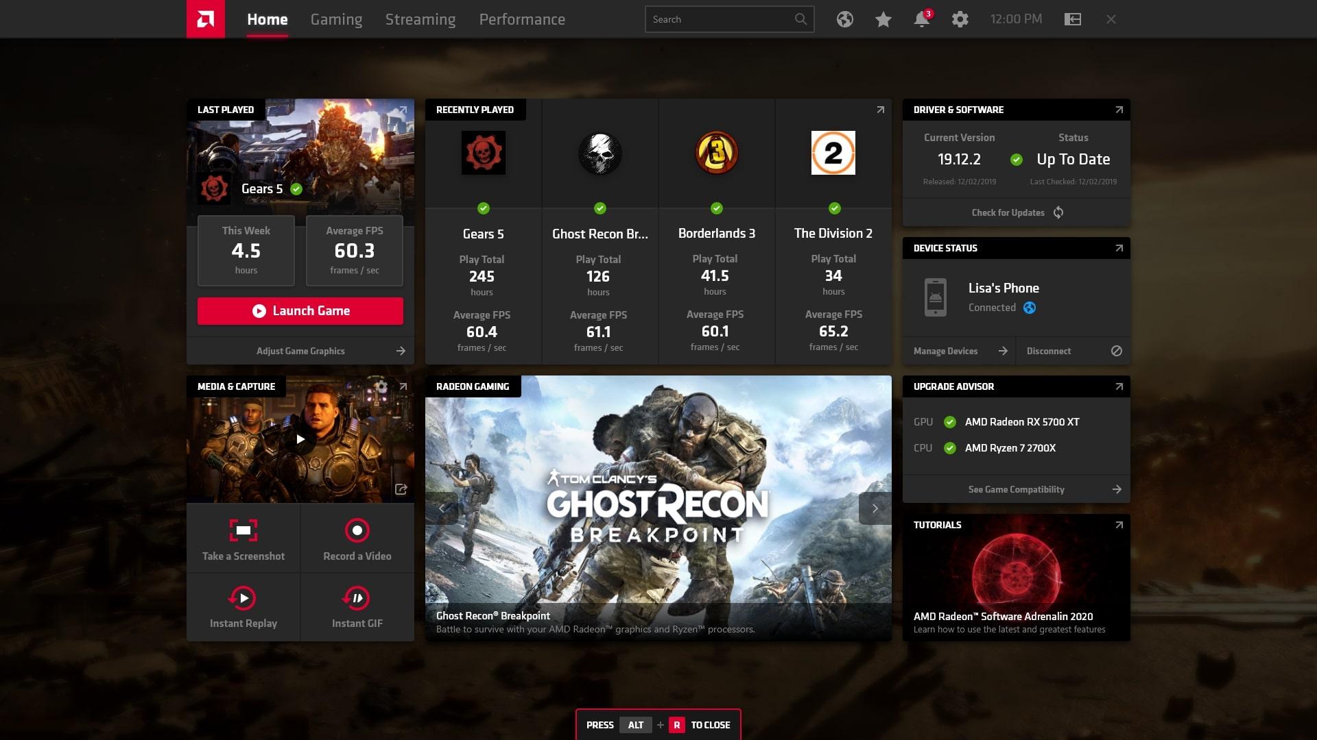 AMD Adrenalin 2020 Edition увеличит количество FPS для владельцев видеокарт Radeon