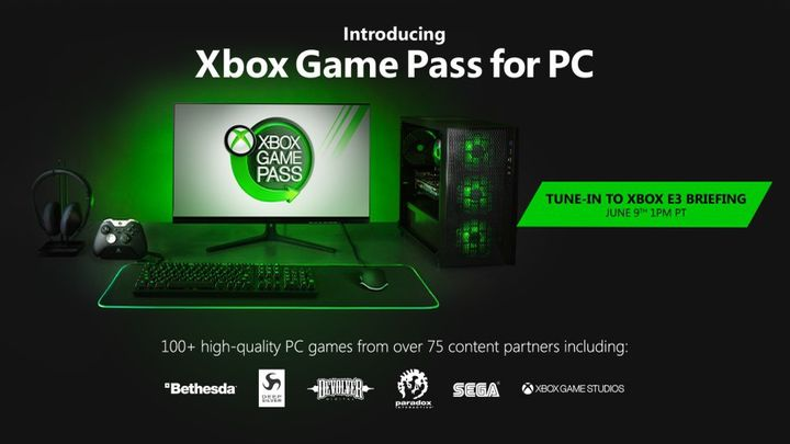 Pecetowy Xbox Game Pass.