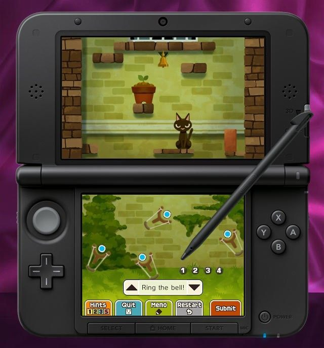 Demo gry Professor Layton and The Miracle Mask dostępne na PC - ilustracja #1
