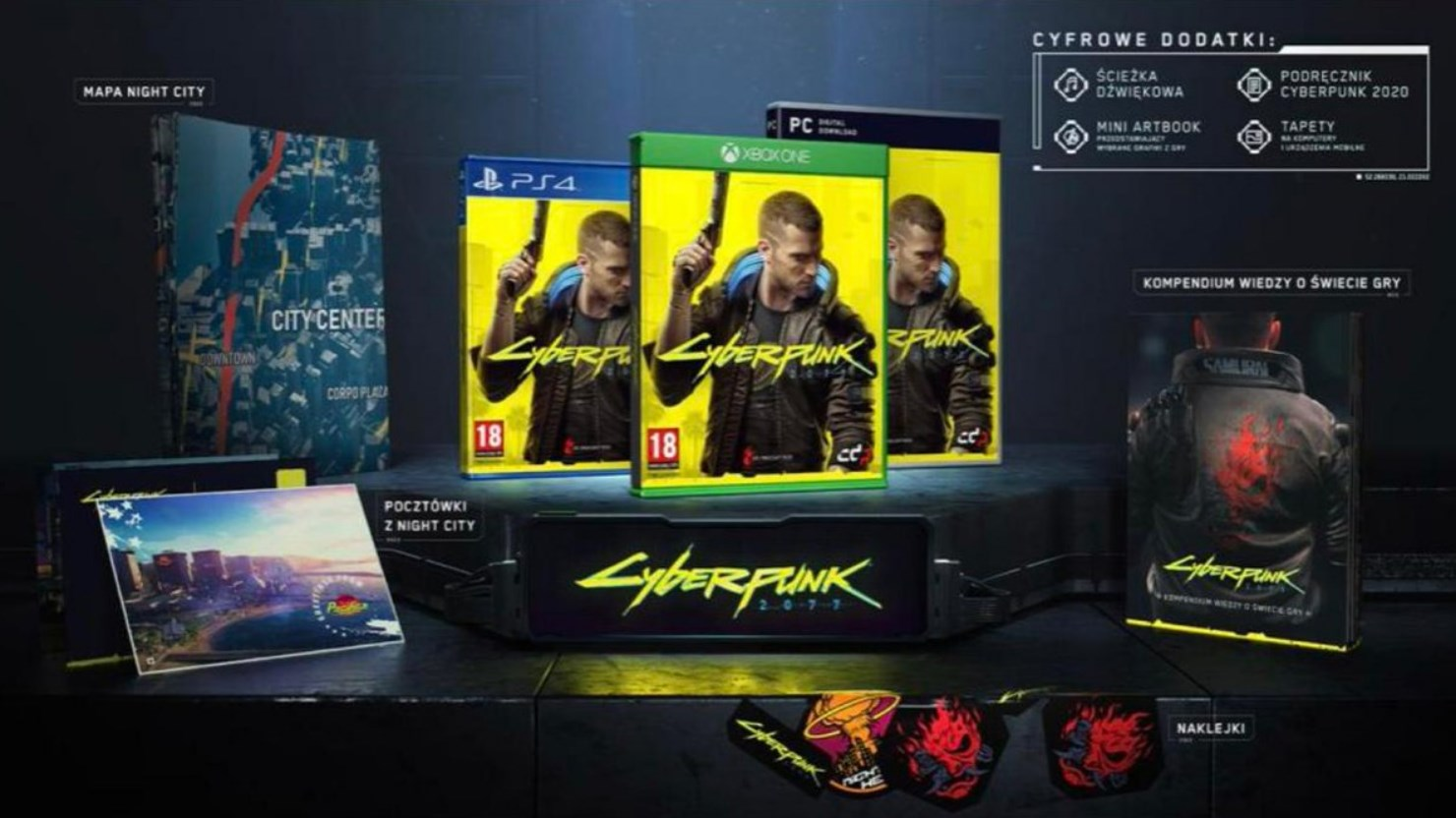 Promo Art of Cyberpunk 2077 Standard Edition Leaked - picture #2