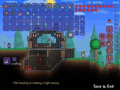 how to get the best armor in terraria ios