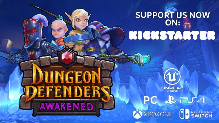 Dungeon Defenders: Awakened nadchodzi. - Tropikalne DLC do Two Point Hospital, nowa łatka do Battlefielda 5 i inne wieści - wiadomość - 2019-03-06