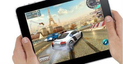 Spelletjes spelen op de iPad