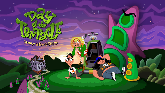 Day of the Tentacle: Remastered trafiło dzisiaj do dystrybucji. - Day of the Tentacle: Remastered – premiera odświeżonego wydania klasycznej przygodówki - wiadomość - 2016-03-22