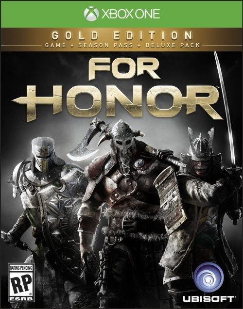 Okładka For Honor Gold Edition na Xboksa One