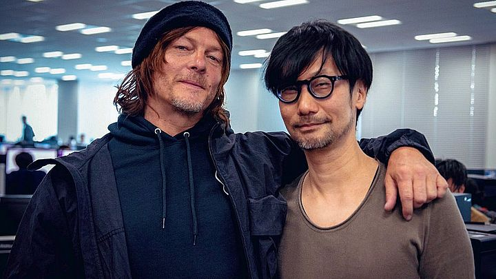 Norman Reedus and Hideo Kojima - the gentlemen responsible for Death Stranding. - Kojima broke two Guinness records - news - 11/11/2019