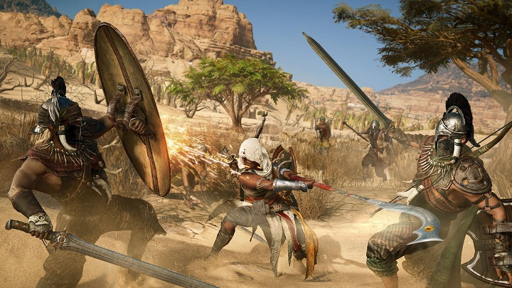 Nowa mechanika walki to bodaj najbardziej rewolucyjna zmiana wprowadzona w Assassin's Creed: Origins. - Wszystko o Assassin's Creed Origins (premiera The Curse of Pharaohs) - Akt. #21 - wiadomość - 2018-03-13