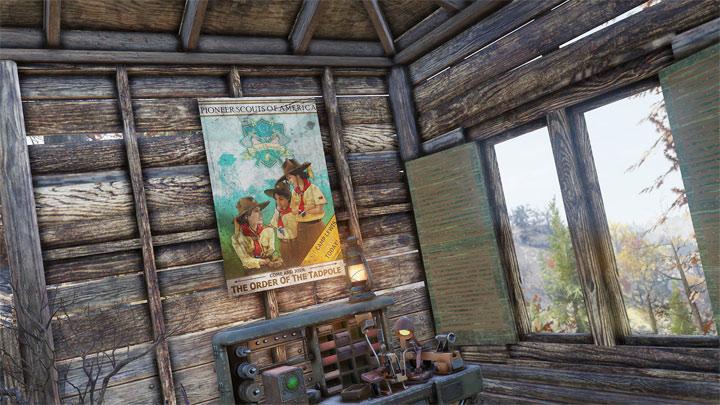 Aby dołączyć do skautów, trzeba będzie odnaleźć jeden z plakatów tej organizacji. - Fallout 76 – patch 9 wprowadzi plecaki, skautów i nowe wyzwania - wiadomość - 2019-04-29