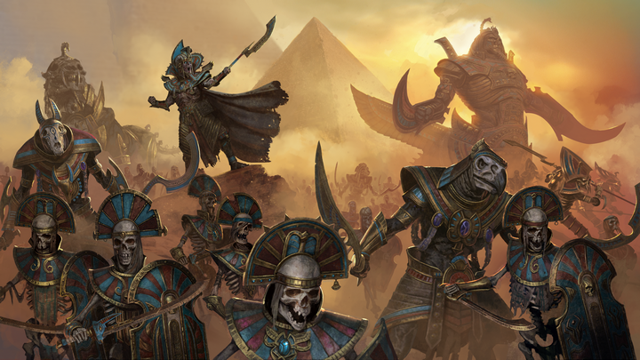 Rise of the Tomb Kings to pierwszy większy dodatek do drugiego Warhammera od Creative Assembly - Zapowiedziano Total War: Warhammer 2 - Rise of the Tomb Kings - wiadomość - 2017-12-20