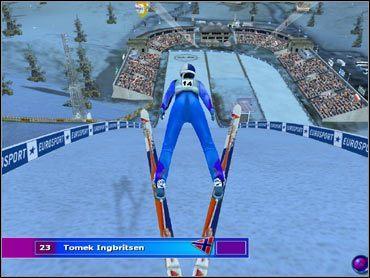 Skoki narciarskie, gRY, onLine.pl