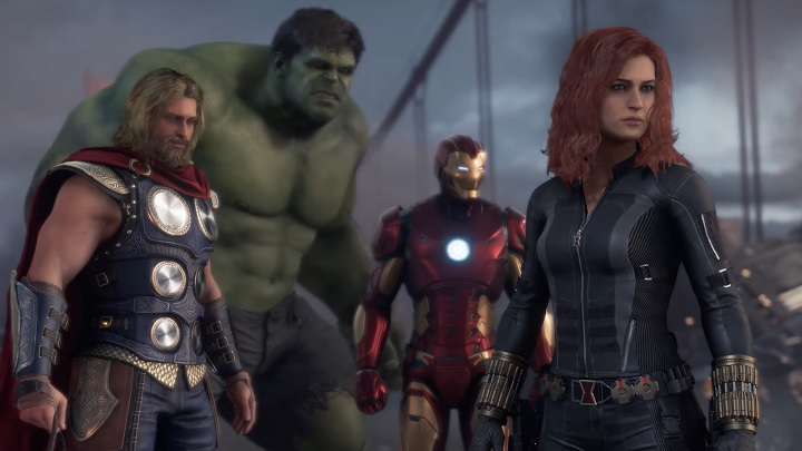 One for all, all for one. - Extensive gameplay from the prologue of Marvel's Avengers Game - known