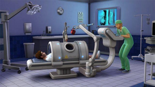 Dzięki The Sims 4: Witaj w Pracy Simowie zostaną lekarzami. - The Sims 4 - dodatek Witaj w Pracy pozwoli wcielić się w lekarza - wiadomość - 2015-02-05