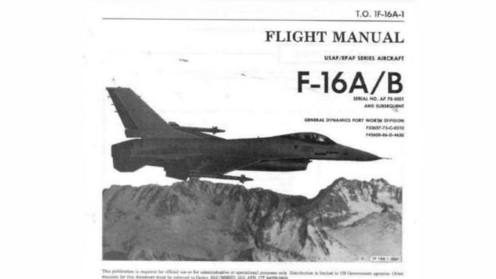 Instrukcja obs³ugi samolotu F -16. - By³y deweloper symulatorów aresztowany za handel dokumentacj¹ F-16 - wiadomoœæ - 2019-05-15
