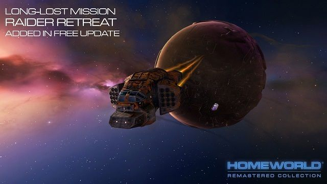 Raider Retreat powraca w Homeworld Remastered Collection - Wieści ze świata (Homeworld Remastered Collection, The Bard's Tale IV, Steam Machines) 11/6/15 - wiadomość - 2015-06-11
