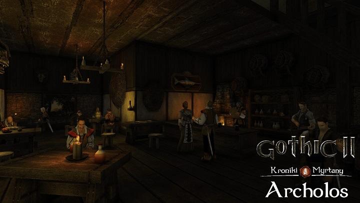 gothic 2 mod dzieje khorinis
