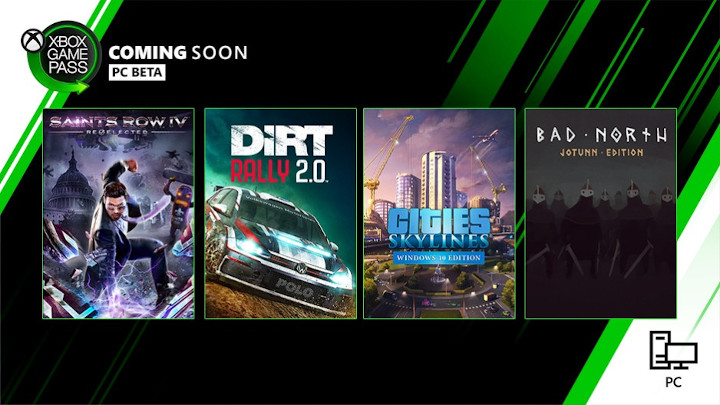 New games will soon appear on the Xbox Game Pass for PC. - New presentation of The Outer Worlds, more Xbox Game Pass games for PC and other news - news - 25/09/2019
