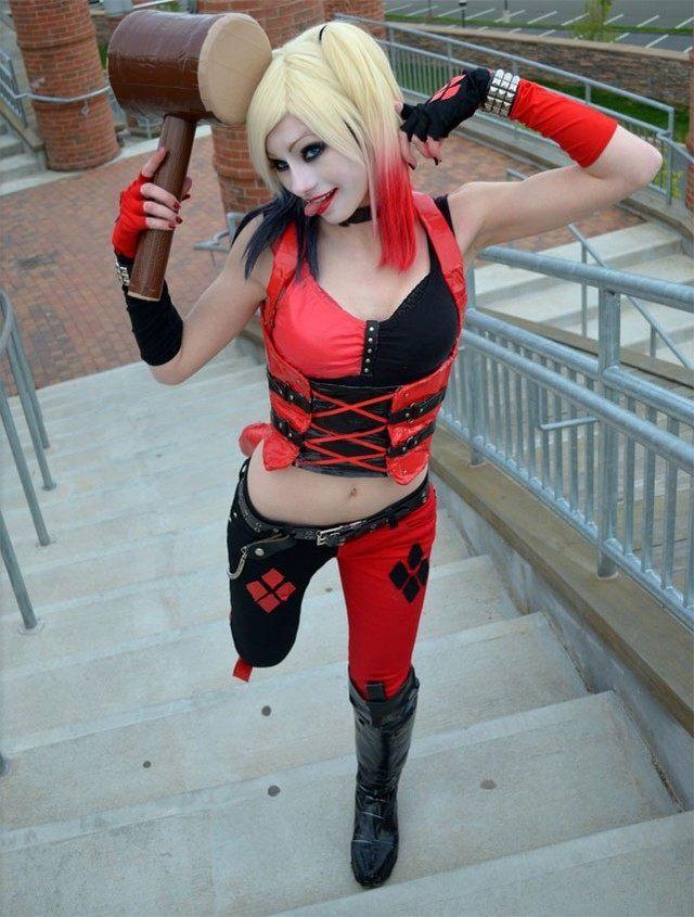Najlepsze Cosplaye Harley Quinn Z Batman Arkham City Gryonlinepl