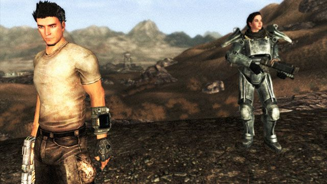 Fallout: New Vegas GAME MOD Weapon Animation Replacers: The
