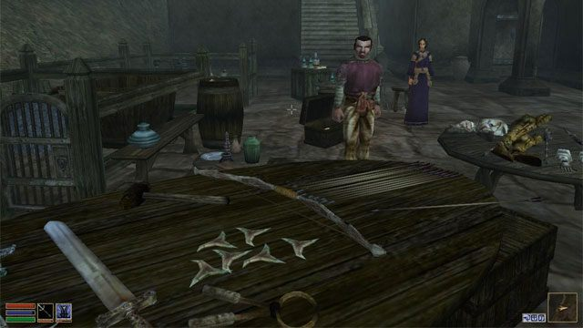 The Elder Scrolls III: Morrowind GAME MOD Balmora Market v