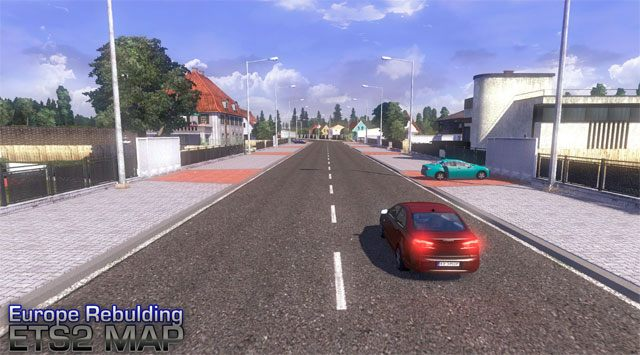 Euro Truck Simulator 2 GAME MOD Europe Rebuilding - download