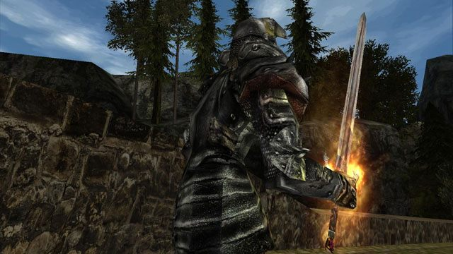 Gothic 2 notr: patch for wide screens 16:9 and 16:10.
