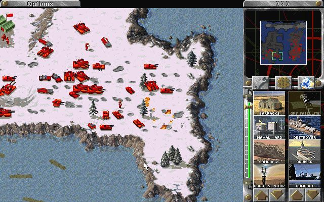 Command & Conquer: Red Alert gra Soviet Disc
