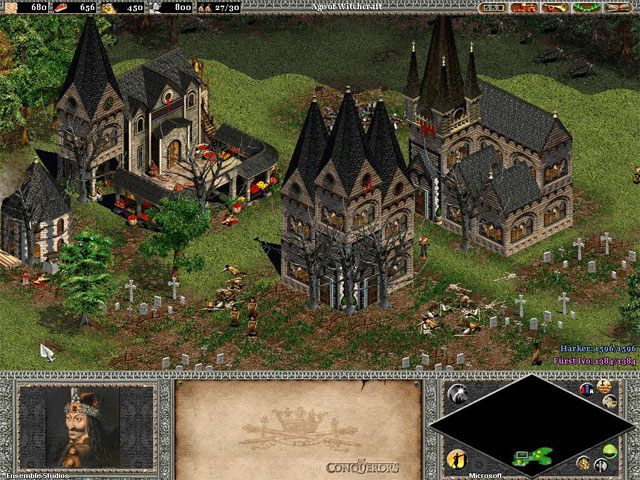 Age Of Empires Ii The Conquerors Game Mod Age Of Vampires