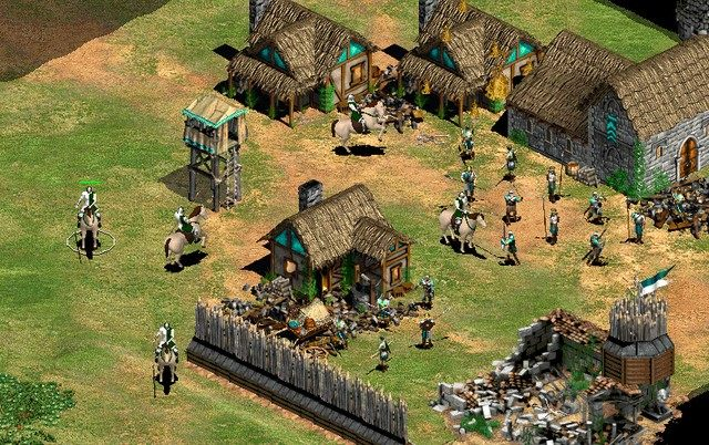 Age of Empires II: The Conquerors GAME MOD Age of Chivalry