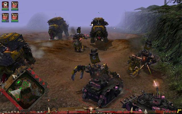 warhammer 40 000 dawn of war winter assault game mod total war