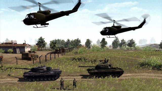 Men of War: Assault Squad GAME MOD Cold War 1975 v 1 b2 - download