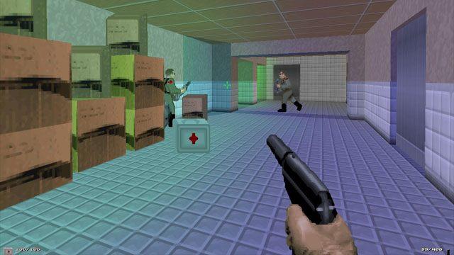 Doom II: Hell on Earth GAME MOD GoldenEye Doom2 v beta4