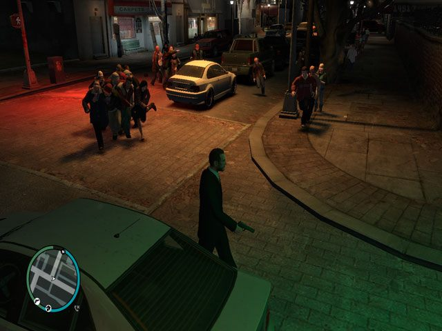grand theft auto iv game mod left 4 liberty infection v 5 1