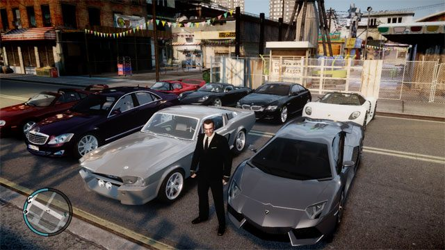 Grand Theft Auto IV GAME MOD Realistic Car Pack v 4 - download