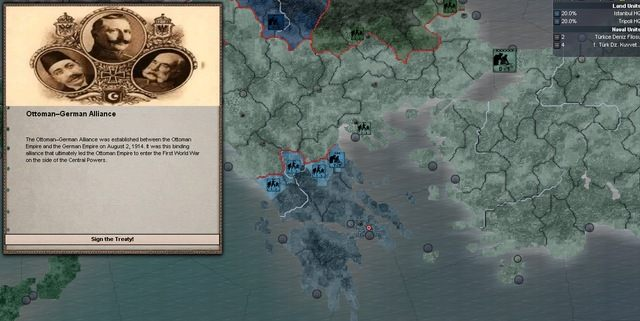 Hearts of Iron III GAME MOD World War 1 Mod v.0.95 ...