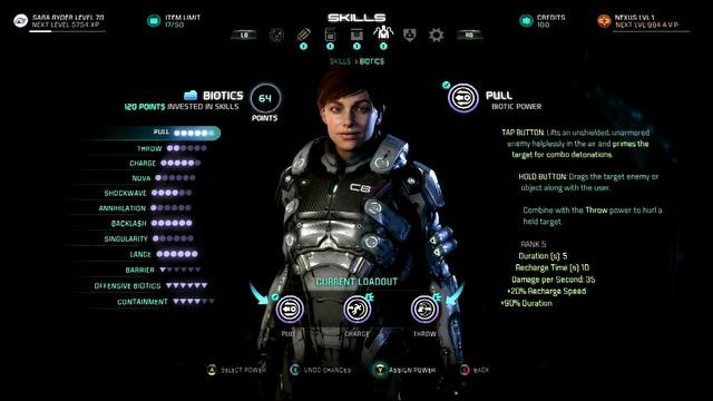 Mass Effect: Andromeda - rozwój postaci i towarzysze (PL)