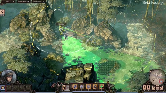 Shadow Tactics: Blades of the Shogun E3 2016 gameplay